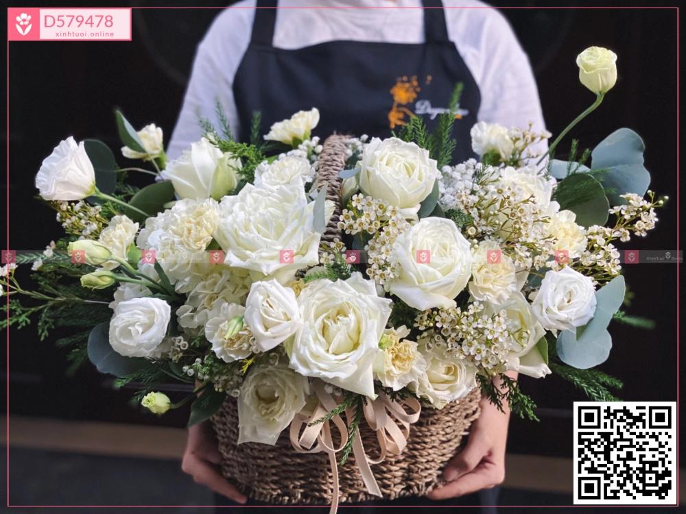 Trắng ngọc ngà - D579478 - xinhtuoi.online