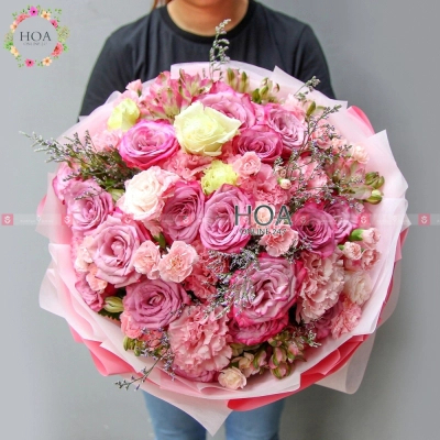 Bó Hoa Sinh Nhật - D195873 - xinhtuoi.online