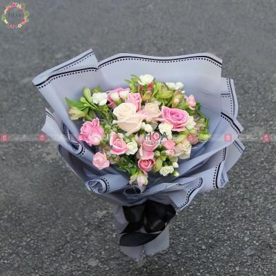 Bó Hoa Chúc Mừng - D196329 - xinhtuoi.online