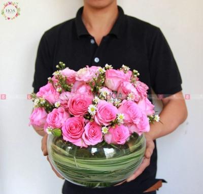Bình Hoa Chúc Mừng - D198164 - xinhtuoi.online
