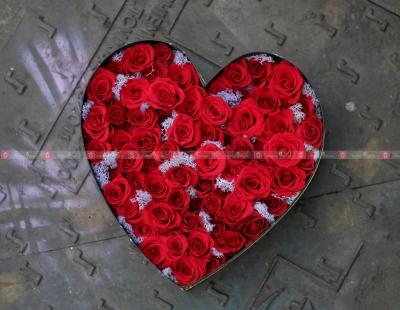 상자 축하 꽃 - D198792 - xinhtuoi.online
