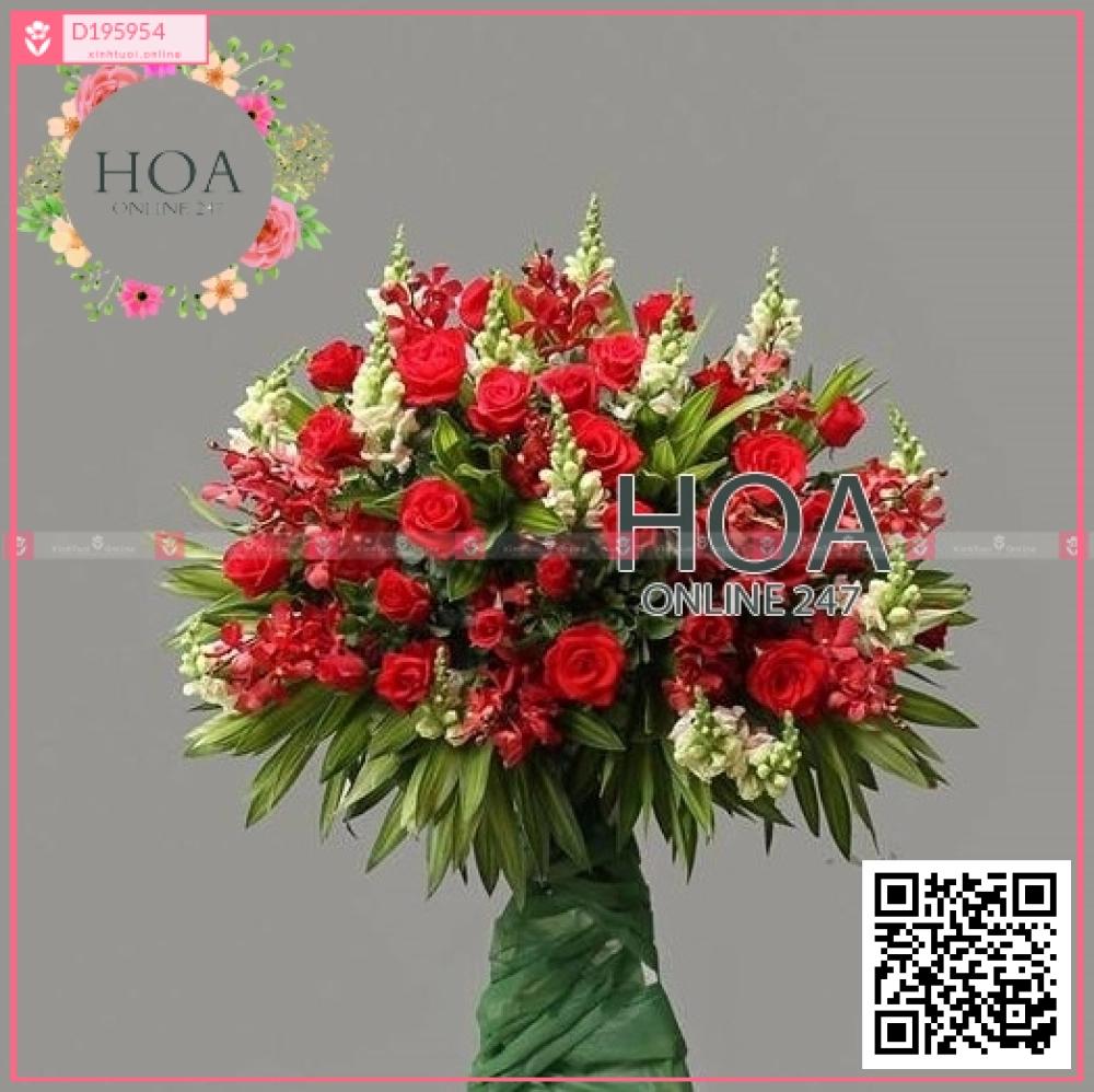 Kệ Hoa Khai Trương - D195954 - xinhtuoi.online