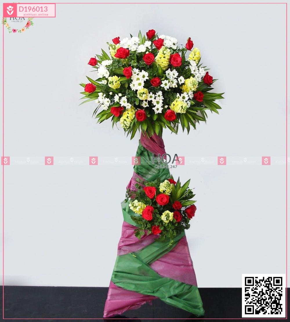 Kệ Hoa Khai Trương - D196013 - xinhtuoi.online