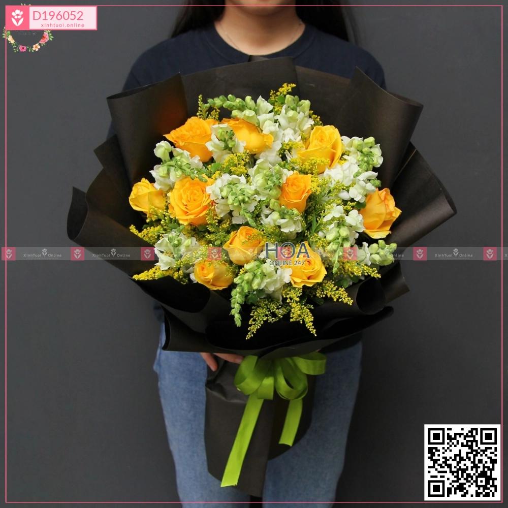 Bó Hoa Chúc Mừng - D196052 - xinhtuoi.online