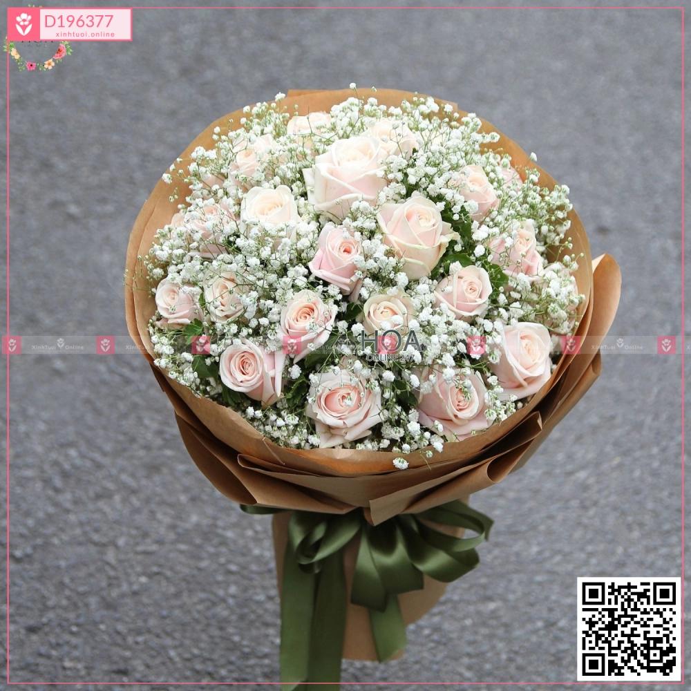 Bó Hoa Chúc Mừng - D196377 - xinhtuoi.online