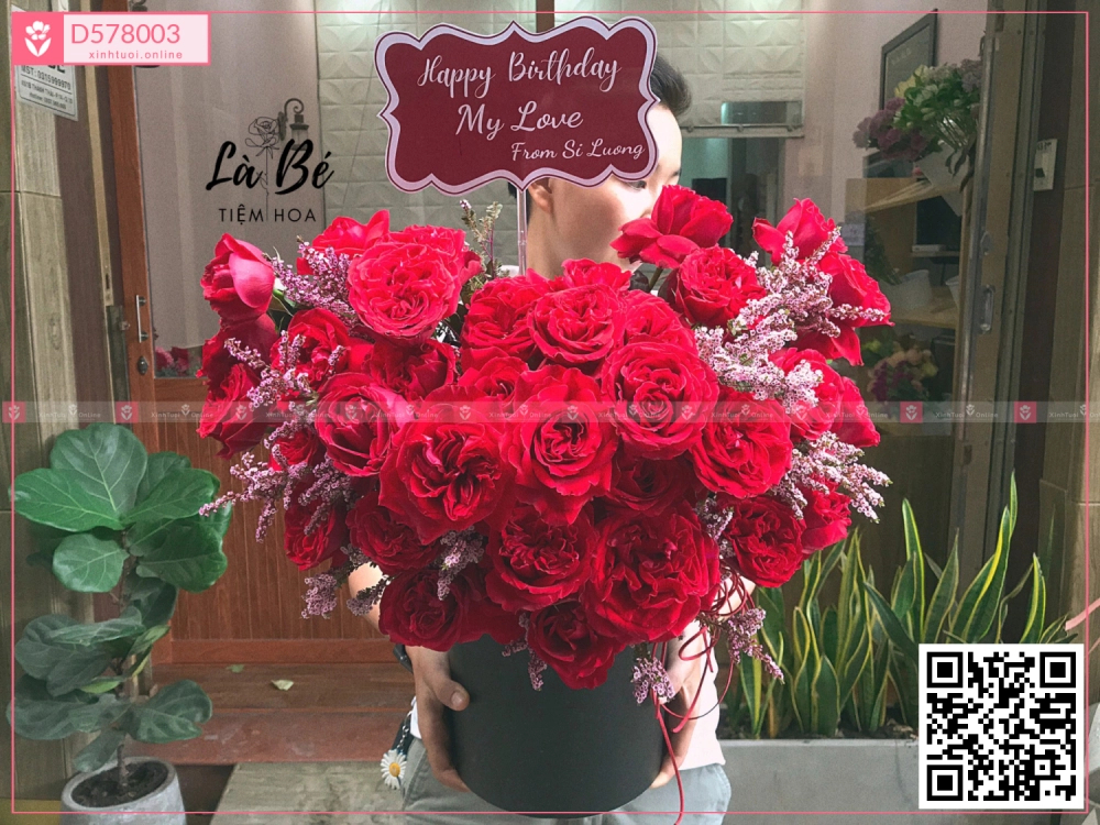 Rose Heart - D578003 - xinhtuoi.online