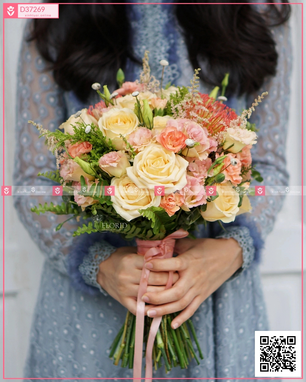 Bó hoa cưới 154156 - D37269 - xinhtuoi.online