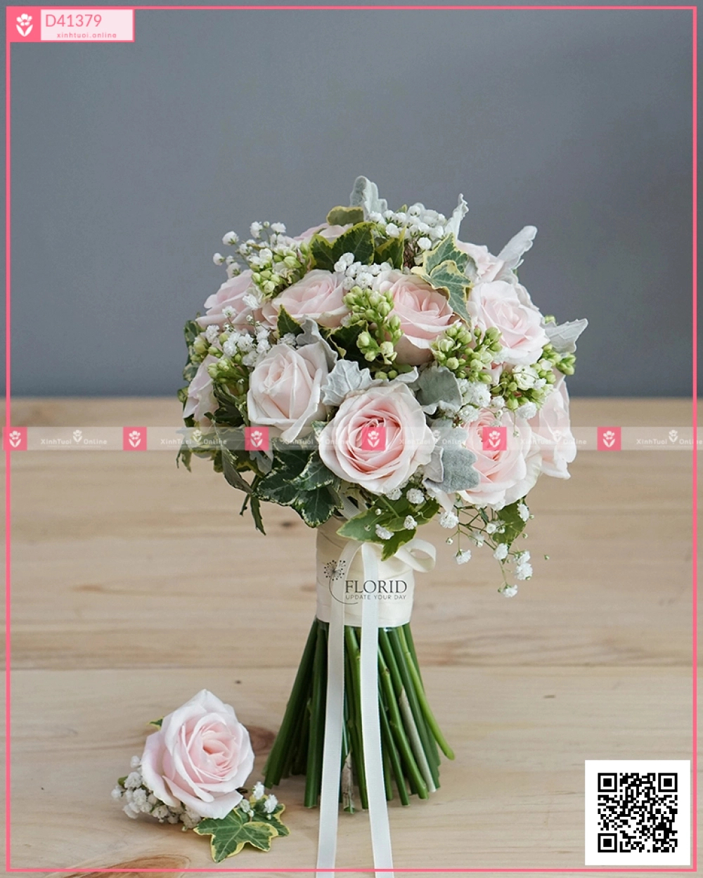Hoa cưới 0380 - D41379 - xinhtuoi.online
