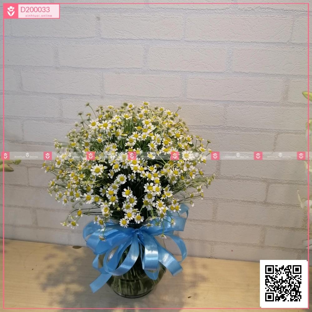 Bình Hoa Chúc Sức Khỏe - D200033 - xinhtuoi.online