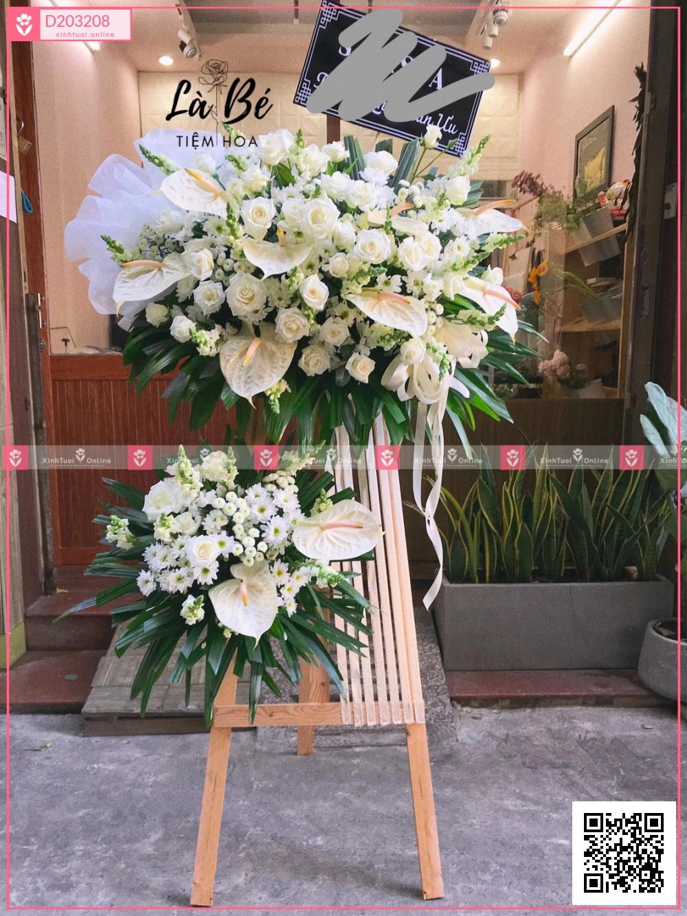Hoa trắng - D203208 - xinhtuoi.online