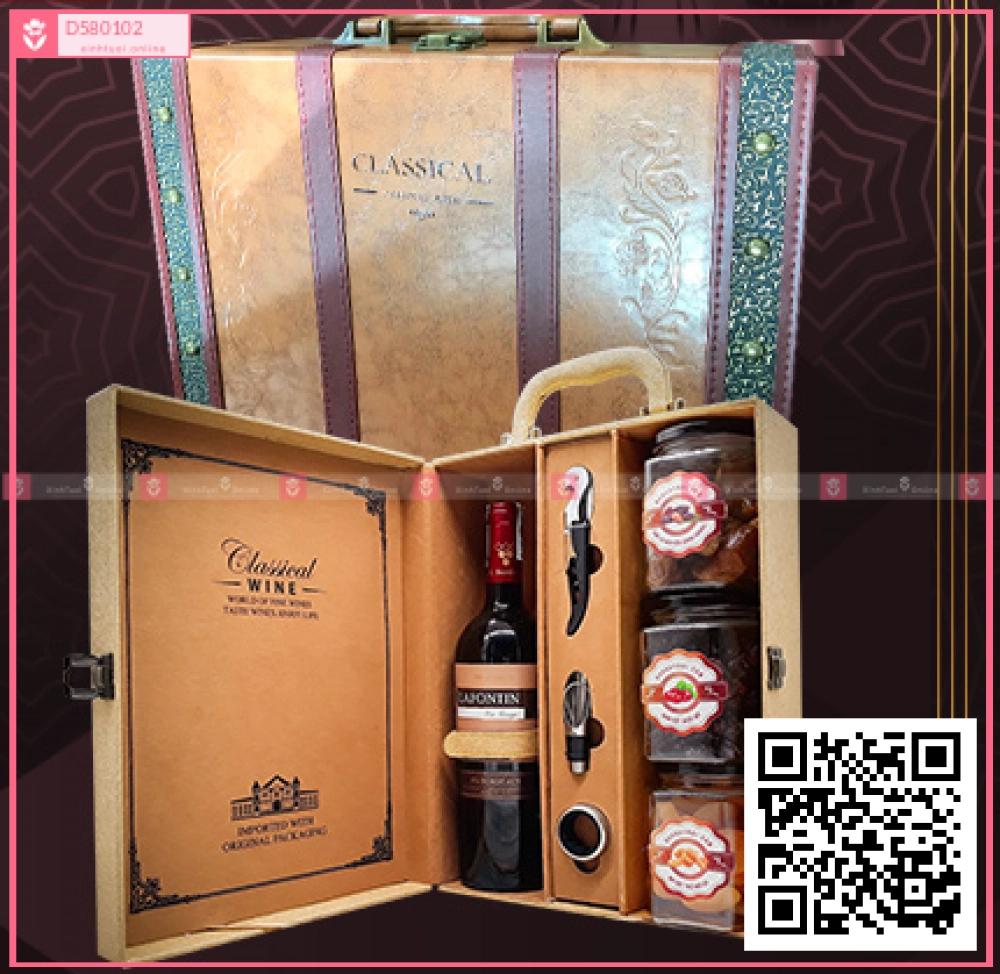 Hộp quà Tết Sức Khỏe - D580102 - xinhtuoi.online